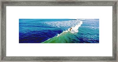 Surfs Up Daytona Beach Framed Print