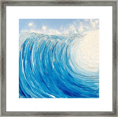 Surf's Up Framed Print by Debra Ryan