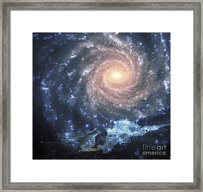 Surfs Way Up Framed Print by Scott Evers