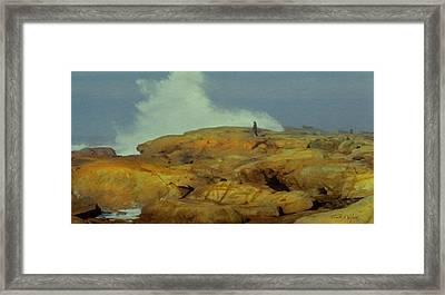 Surfwatcher Framed Print