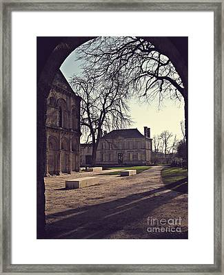 Surgeres Framed Print by Cendrine Marrouat