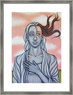 Surprise Framed Print by Allison Hill