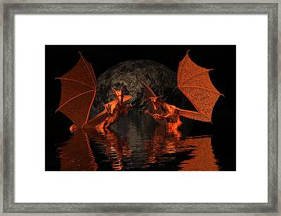 surPRISE Framed Print by Claude McCoy