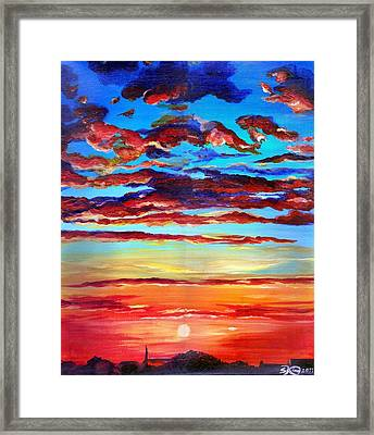 Surprise Ending Framed Print by Suzanne King