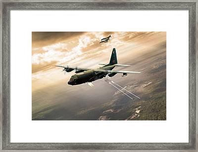 Surprise Package Framed Print by Peter Chilelli