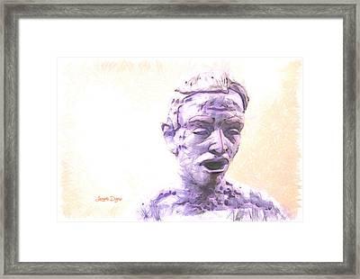 Surprising - Da Framed Print by Leonardo Digenio