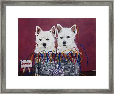 Surprize Framed Print by Aleta Parks