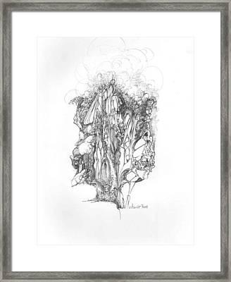 Surreal 10-1 Framed Print by Padamvir Singh