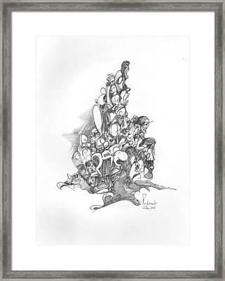 Surreal 10-4 Framed Print by Padamvir Singh