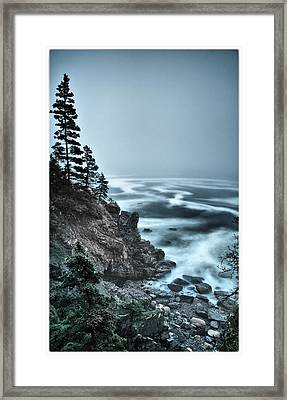 Surreal Acadia Framed Print by Chad Tracy