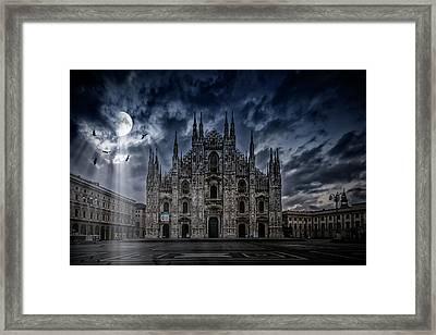 Surreal Art Milan Cathedral No1 Framed Print