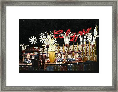 Surreal Carnival Framed Print by Dave Martsolf