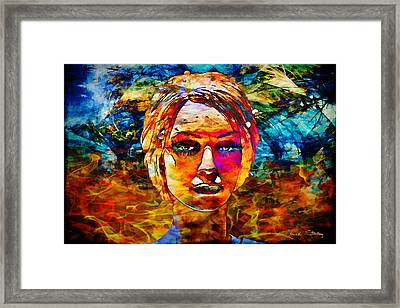 Framed Print featuring the photograph Surreal Dream - Chuck Staley by Chuck Staley