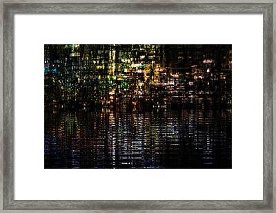 Surreal Evening Framed Print
