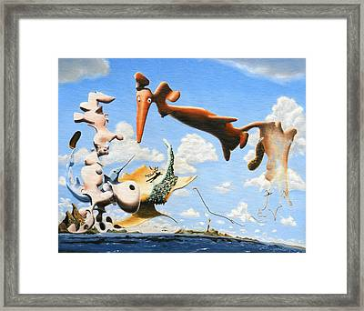 Surreal Friends Framed Print by Dave Martsolf