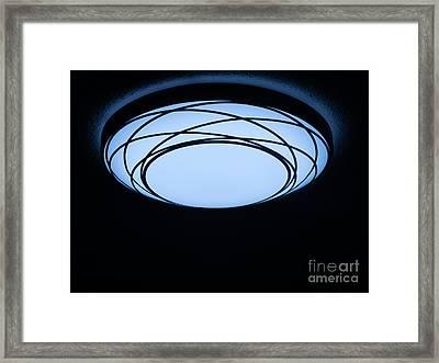 Surreal Night Light Framed Print by Ann Horn