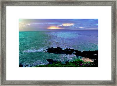 Surreal Paradise Framed Print by Krissy Katsimbras