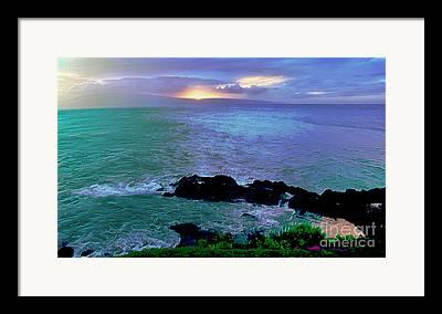 Heavenly Digital Art Framed Prints