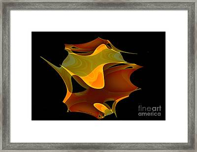 Surreal Shape Framed Print