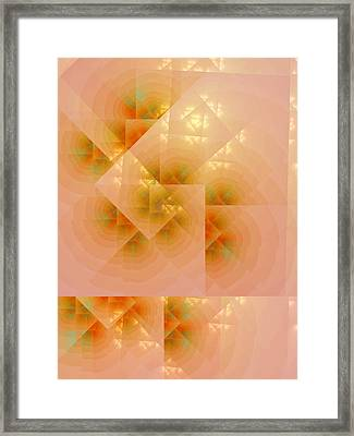 Framed Print featuring the digital art Surreal Skylight by Richard Ortolano