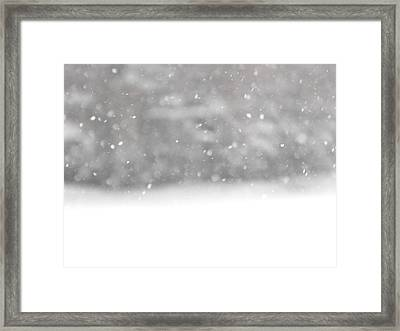 Surreal Snowdrops Framed Print