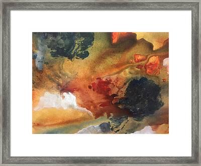 Surreal Sunrise Framed Print by Lori Thompson
