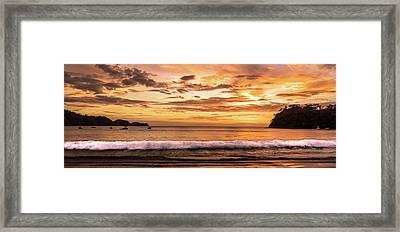 Surreal Sunset  Framed Print by Michael Santos