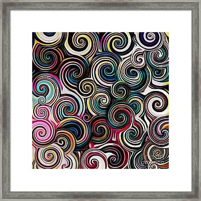 Surreal Swirl  Framed Print