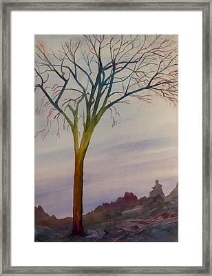 Surreal Tree No. 2 Framed Print by Debbie Homewood