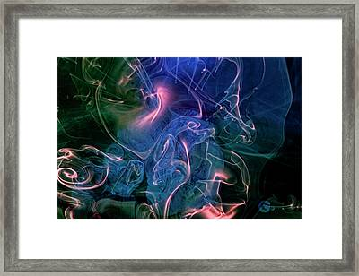 Framed Print featuring the photograph Surreal Waters V3 by Rico Besserdich