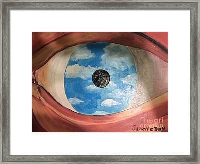 Framed Print featuring the painting Surrealism by Janelle Dey