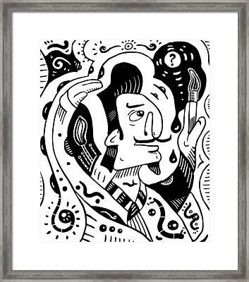 Surrealism Painter Framed Print