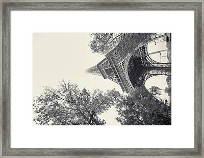 Framed Print featuring the photograph Surrealistic Tower by Richard Goodrich