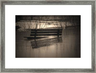 Surrender Framed Print by Cathy  Beharriell