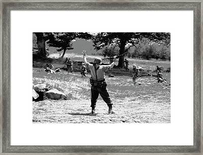 Surrender  Framed Print by Christopher Rowlands