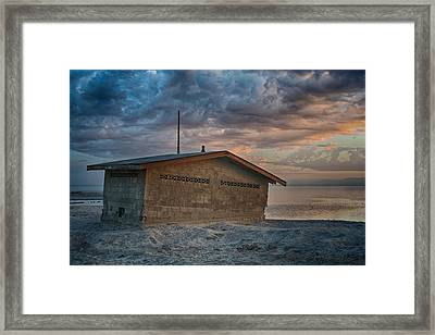 Surrender Framed Print by Laurie Search