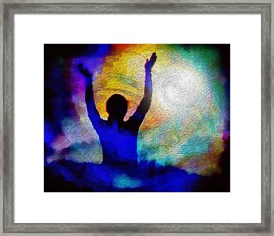 Surrender To Light Framed Print