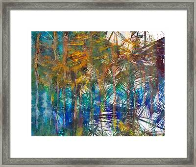 Surrender To The Light Framed Print by Claire Bull