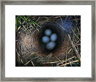 Surrogate Framed Print