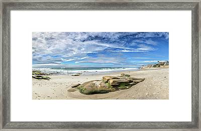 Framed Print featuring the photograph Surrounded By Beauty by Peter Tellone