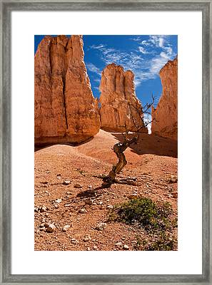Surrounded By Hoodoos Framed Print by James Marvin Phelps