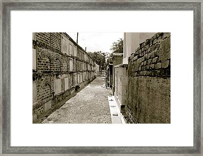 Surrounded By Loss Framed Print