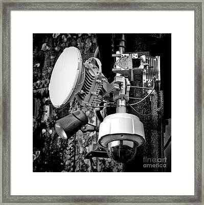 Surveillance Framed Print by Olivier Le Queinec