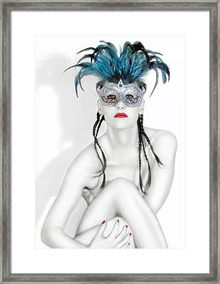 Survivor - Self Portrait Framed Print by Jaeda DeWalt