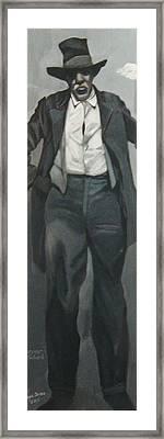 Survivor Spirit Richard Jackson Framed Print by Joyce Owens