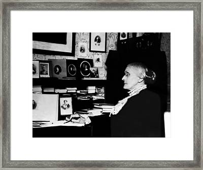 Susan B. Anthony, Circa 1900 Framed Print