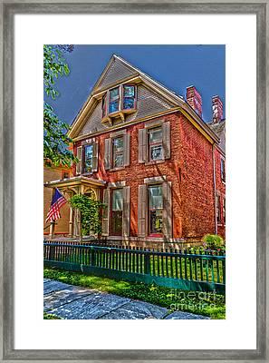 Susan B Anthony House Framed Print