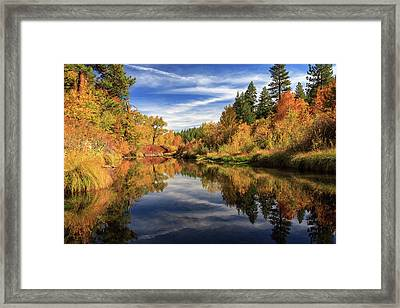 Susan River 10-28-12 Framed Print by James Eddy