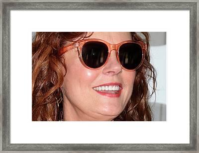 Susan Sarandon 1 Framed Print