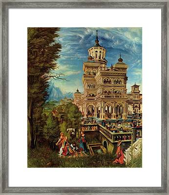 Susanna In The Bath 1526 Framed Print
